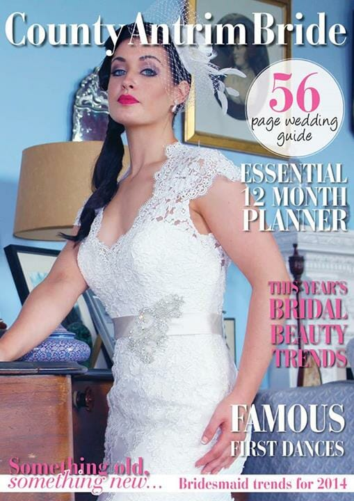 bridal make-up look for county antrim bride magazine